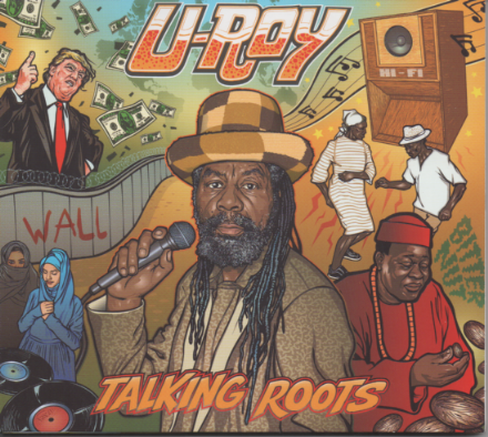 U-Roy - Talking Roots (Ariwa) LP